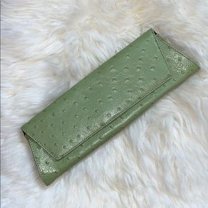 Valerie Stevens leather clutch